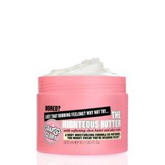 Soap and glory - righteous butter- this stuff makes me happy !!!