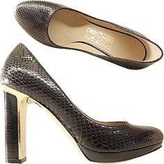 "Ferragamo shoes ""TAMINA"" Fall/Winter 2012/2013"