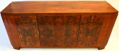 Wortelnoten Art Deco dressoir - Catawiki