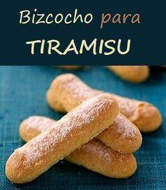 Bizcocho para tiramisu | Bizcocho de soletillas | Vainilla. Rceta para hacer los tradicionales bizcochos para tiramisu caseros.