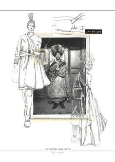 Fashion Sketchbook - fashion illustrations; creative process; fashion portfolio // Valentina Desideri