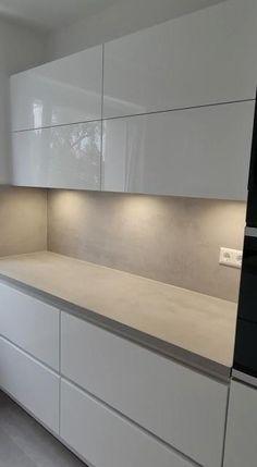 Kitchen Pantry Design, Luxury Kitchen Design, Kitchen Cabinet Design, Interior Design Living Room, Kitchen Cabinets, Modern Kitchen Interiors, Modern Grey Kitchen, Home Room Design, Cuisines Design