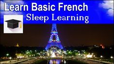 Sleep Learning ★ Spoken French ★ Learn French With The Power Of Binaural...