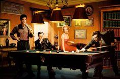Old classic billiards... by IdemLaFel on DeviantArt