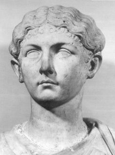 LIVILLA (13BC-31CE) was a descendant of Augustus' sister, Octavia the Younger, as daughter of Antonia Minor.  Her brother, Germanicus, was the obvious choice as successor to Augustus, but he was overlooked in favor of Augustus' 3rd wife's son, Tiberius.  Livilla was forced to marry Tiberius' intended heir, Drusus.  She became a lover of the prefect Sejanus & helped poison her husband in a plot to overthrow Tiberius' line & re-establish her own on the throne.