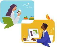 Slack by Ueno. A case study. Simple Illustration, Business Illustration, Character Illustration, Graphic Illustration, Web Design, Icon Design, Flat Design, Office Icon, Calendar Layout