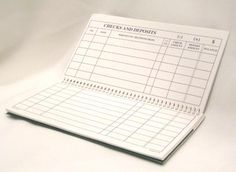 This printable check register is sized and shaded just like those ...