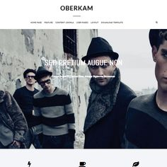 Oberkam is a Free Joomla Templates under GNU/GPL Free to download software for Joomla 3.0 created by Globbers Themes a Joomla Templates Provider
