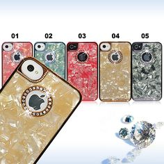 Shenacases Marble Protective Hard Back Case for iPhone 4/4S
