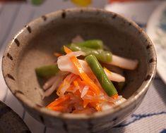 Squid and veg salad