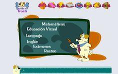 Aprende con Frosti. Con la ayuda de nuestro amigo Frosti, recorre un portal de actividades dirigidas al alumnado de primer ciclo