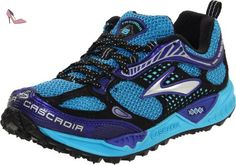 Brooks Cascadia 6 W, Chaussures de running femme - Bleu-TR-I2-15, 42 EU (8 UK) - Chaussures brooks (*Partner-Link)
