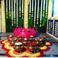 Traditionally a ceremony that is prevalent in Telugu weddings, Mangala snanam is a ritual in which the bride and groom are supposed to take an auspicious bath on their Big-day. We provide all the arrangements for mangala snanam decorations. Desi Wedding Decor, Wedding Hall Decorations, Backdrop Decorations, Flower Decorations, Wedding Blog, Wedding Centerpieces, Wedding Planner, Backdrops, Wedding Ideas