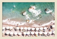 Seen first at One Kings Lane: This aerial image from Judith Gigliotti is sure to inspire dreams of sun-warmed days at the beach. Printed on semi-gloss photo paper and displayed in a white pine frame, this piece arrives ready to hang. Modern Photography, Beach Photography, Frame Wall Decor, Frames On Wall, California College Of Arts, Grey Artist, Artist Wall, Aerial Images, White Prints