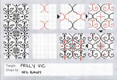 Frilly Vic - tangle pattern by perfectly4med, via Flickr#Repin By:Pinterest++ for iPad#