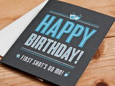 shotglass dribbble 25 Brilliant Greetings Cards Design