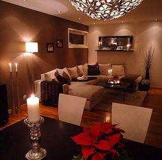 46 Stunning Romantic Living Room Decor Ideas - Popy Home Romantic Living Room, Cozy Living Rooms, Home Living Room, Apartment Living, Living Room Designs, Living Room Decor, Living Room Warm Colors, Apartment Entryway, Design Apartment