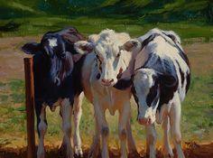 Three Graces by carol peek  Oil ~ 9 x 12