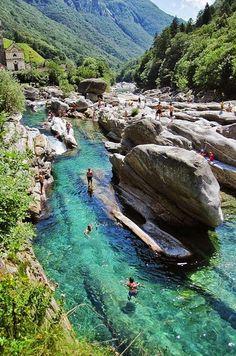 Valle Verzasca, Switzerland