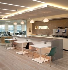 communal bar height conference table - Google Search