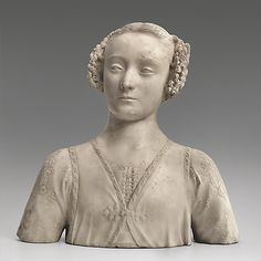 Bust of a Young Woman Andrea del Verrocchio (Italian, Florence 1435–1488 Venice)