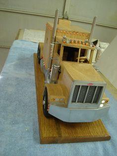 Frontal view of Oak truck