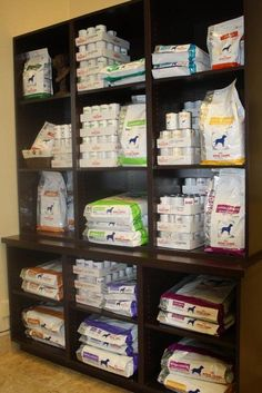 veterinary hospital food shelving | Our Irving Animal Hospital
