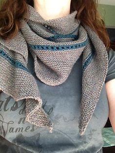 Ravelry: rumoredcellist's Nangou shawl - test knit