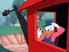 23 Jobs Donald Duck Has Attempted - 3 Steam Shovel Operator (Dragon Around, 1954)