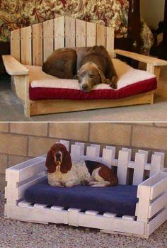 55 πανέμορφα κρεβατάκια σκύλων απο παλέτες! | Φτιάξτο μόνος σου - Κατασκευές DIY - Do it yourself