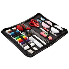 Sewing Kit - Premium, Portable, PU Leather Travel Sewing Kit - 64 Craft Accessories For Every Household - Perfect Gift For Moms and All Sewing Lovers Tunalt Entwine http://www.amazon.com/dp/B0150RLZLK/ref=cm_sw_r_pi_dp_o.6Twb13K0EST