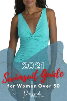 2021 Swimsuit Guide for Women Over 50 - swimwear and beach coverups for women over 50 Over 50 Womens Fashion, Fashion Over 50, Beauty Contest, Best Swimsuits, Swimsuit Cover Ups, Bra Tops, Get Dressed, Spring Summer Fashion