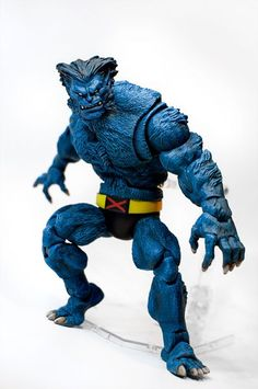 Beast (Marvel Legends) Custom Miniature / Figurine by TouchToneDialing Base figure: Sasquatch and ML4 Beast