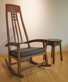 This chair was submitted by William Geyer of Pa in the June 2016 edition of Fine Woodworking, I think it's beautiful!