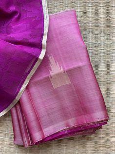 Twigged for its Curated Range of Flamboyant yet FineDrawn Handloom Sarees, Each sari is Handpicked as ASwornStatement to the Greatness of Weavers. Mysore Silk Saree, Silk Saree Kanchipuram, Raw Silk Saree, Kalamkari Saree, Indian Silk Sarees, Soft Silk Sarees, Lengha Blouse Designs, Cutwork Blouse Designs, Bridal Sarees South Indian