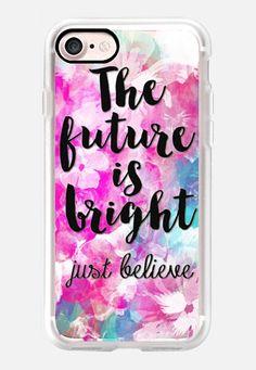 The Future is Bright iPhone 7 Case by Li Zamperini | Casetify