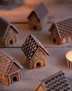 I want to make a gingerbread christmas town, and I don't care how grandma that sounds! I want to make a gingerbread christmas town, and I don't care how grandma that sounds! Gingerbread House Parties, Gingerbread Village, Christmas Gingerbread House, Christmas Town, Christmas Sweets, Christmas Baking, Gingerbread Cookies, Christmas Cookies, Xmas