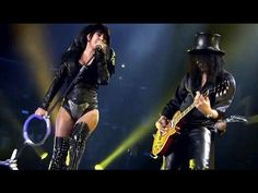 THANK YOU 4 SHARIN  Slash Ft. Fergie - Beautiful Dangerous LIVE (Official Music Video)
