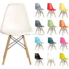 Chaise plastique DSW inspiration de Charles Eames | RetroFurnish - Reproduction de meubles