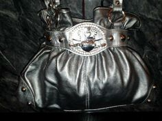 NWOT Silver Authentic Kathy Van Zeeland Handbag. Starting at $30 on Tophatter.com!