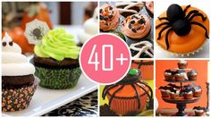Cupcake ideas for 2014 Halloween Party that you should learn and follow !
