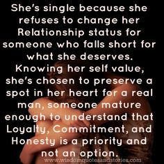 Why a girl remains single? | Wisdom Quotes & Stories