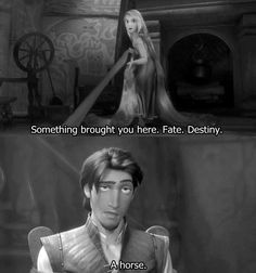 "Love this, really shows how Disney has grown :). If this were made a few decades ago he probably would have said ""fate."""