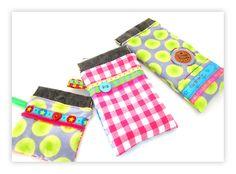 farbenmix Taschenspieler Schnittmuster zum Nähen KREUZ Schnappverschlusstasche