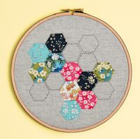 {Book Review} Hoop-La - 100 Things to do with Embroidery Hoops | A Spoonful of Sugar