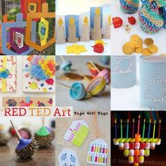 25 Craft Ideas for Hanukkah - something for children and grown ups alike. So many fabulous and fun ideas to explore and check out!