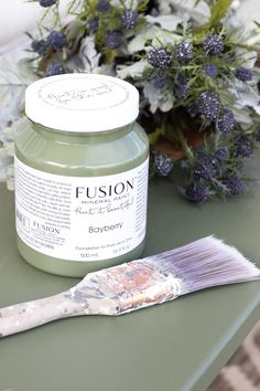 We just love this colour. Welcome to the new just launched Bayberry! #FusionMineralPaint #PaintItBeautiful #FurniturePaint