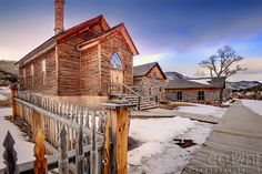 Bannack ghost town gold   ... soften the rough lifestyle of a gold rush town with multiple saloons