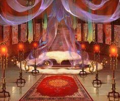 Fantasy Rooms, Fantasy Bedroom, Fantasy Castle, Fantasy Places, Fantasy World, Fantasy Art, Chinese Landscape, Fantasy Landscape, Casa Anime