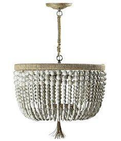 Beautiful and simple chandelier from Serena and Lily. Love.